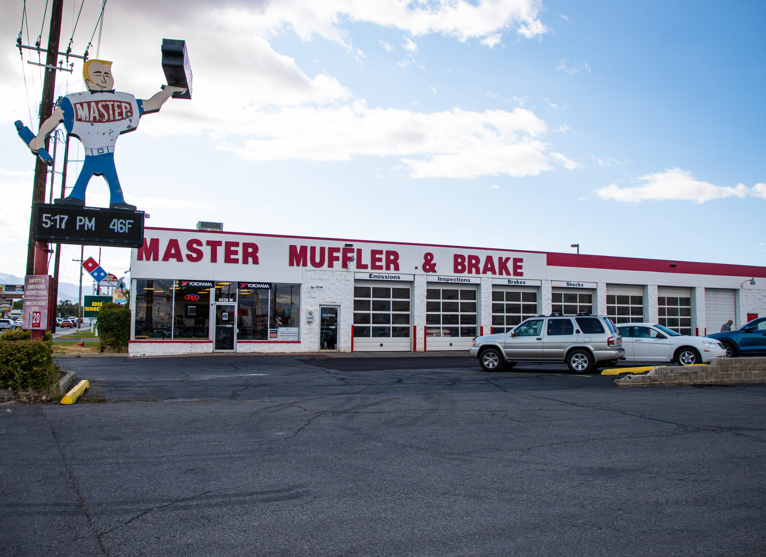 Kearns Master Muffler Location