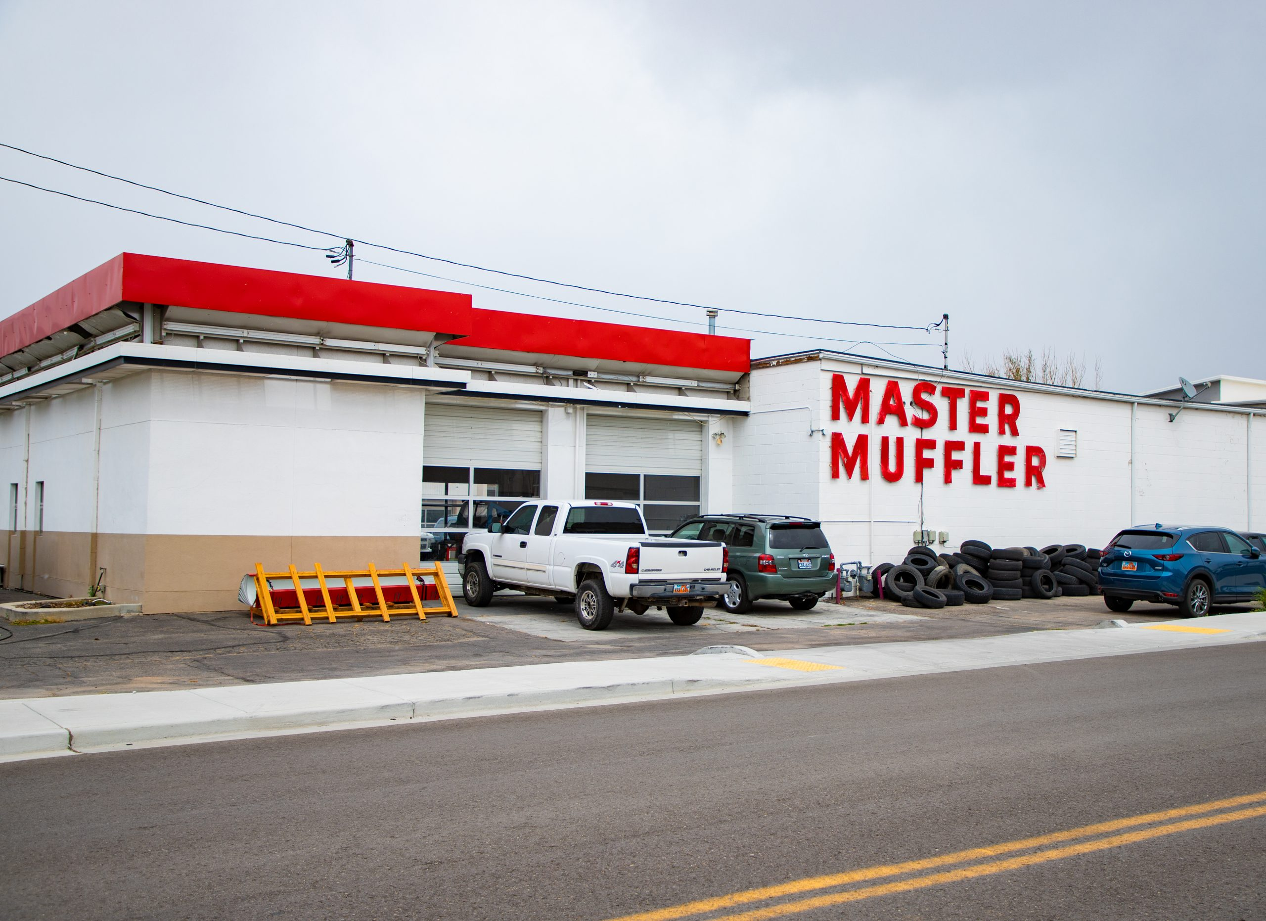 Sandy Master Muffler Location