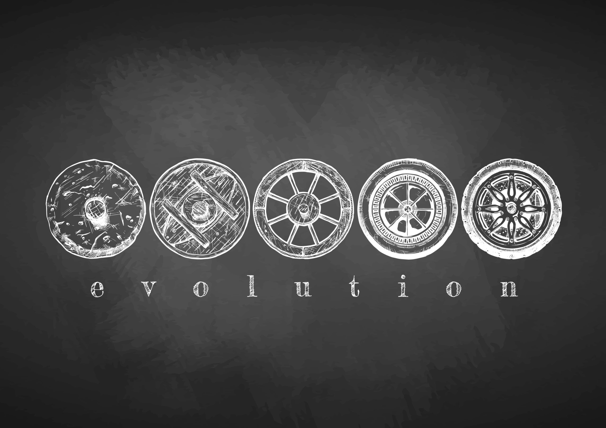 The evolution of the tire and auto repair.